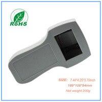 Plastic Eletronic Box Plastic Handheld Enclosure Case Equipment 189 108 94mm 7 44 4 25 3