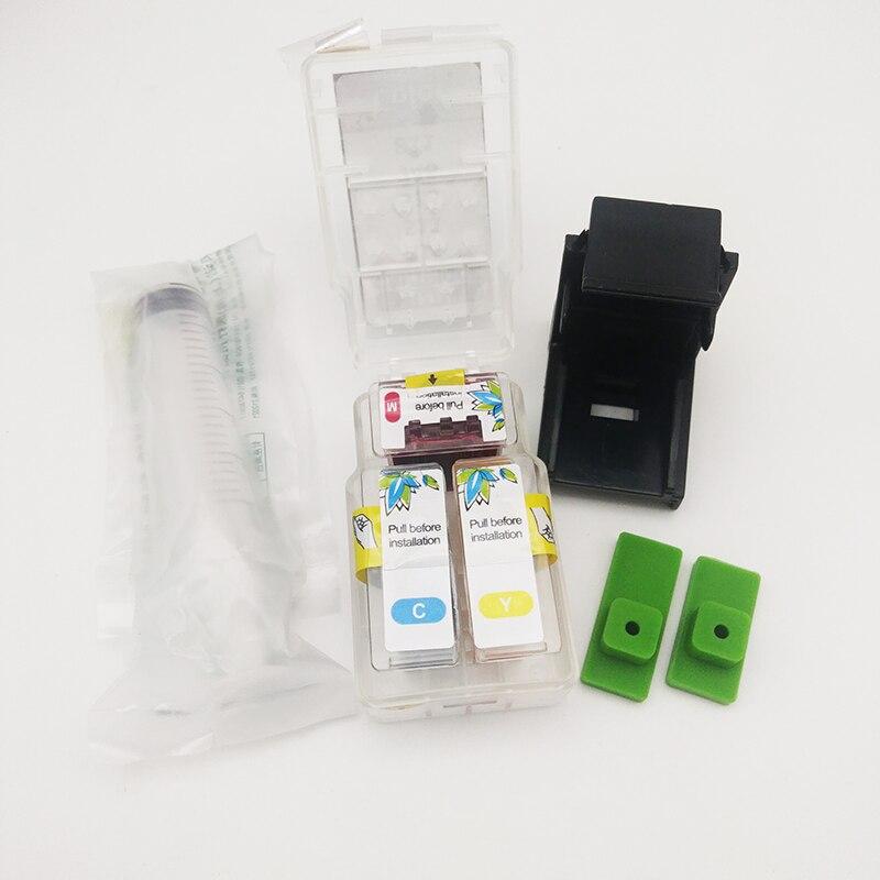 Einkshop PG-40 CL-41 Smart Cartuccia Kit di Ricarica per Canon PG40 Pg 40 CL41 Pixma MP140 MP150 MP160 MP180 MP190 MP210 MP220 MP450