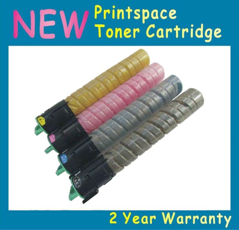 ФОТО 4x NON-OEM High Capacity Toner Cartridges Compatible For Ricoh Aficio MP C2030 C2050 spf,C2550 spf,C2550 csp,C2550 Series