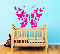 Wall Decals Butterlfies Decal Nursery Vinyl Sticker Home Bedroom Decor