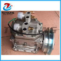 Factory direct sale New auto parts air conditioning compressor for Mitsubishi bus truck 24V, China supply