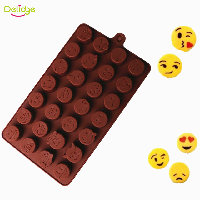 28 Expression Chocolate Silicone