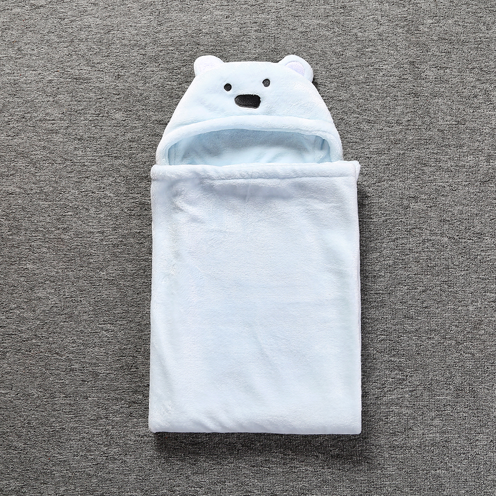 Comfortable Baby Bathrobe Cute Animal Cartoon Babies Blanket Kids ...