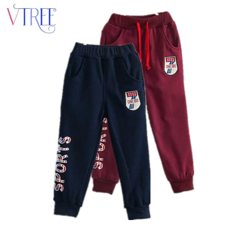 Fashion Spring Teen Boys Girls Pants Girl Boys Clothing -3194