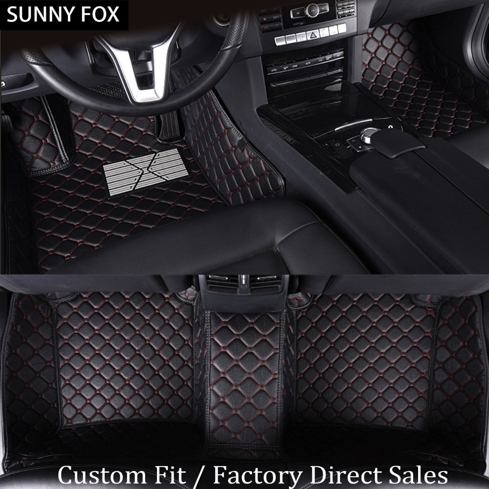 Sunny tapis de sol de voiture FOX pour Subaru Forester Legacy Tribeca XV 5D revêtement de sol de tapis robuste