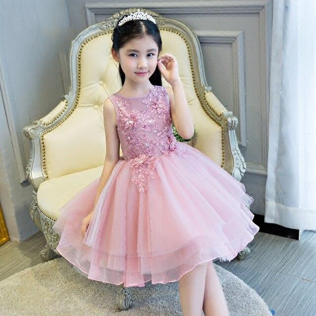 Dama de honor vestido de novia nuevo estilo 2017 muchachas de flor ...