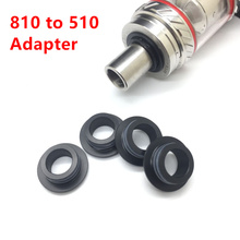 E-XY Electronic cigarette 810 To 510 Drip Tip Adapter for 810 Conversion 510 Connector RDA RBA RTA Tank Atomizer
