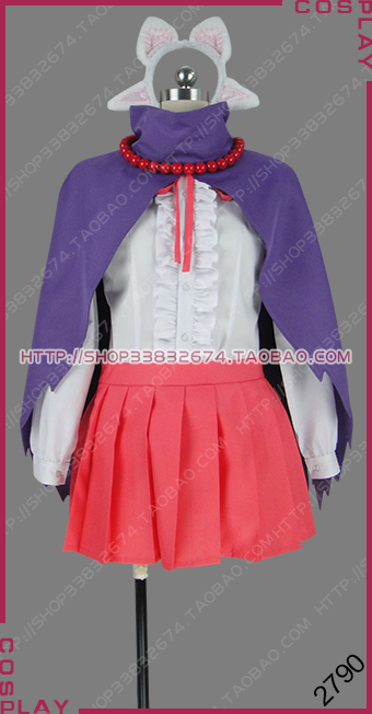 Net-juu no Susume Recovery of an MMO Junkie Lilac Online Uniform Dress Cosplay Costume S002 image