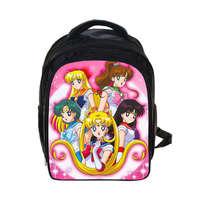 アニメ美少女戦士セーラームーンリュック用女の子子供毎日バックパックスクールバッグ子供リュック漫画バッグ最高のギフトバッグ