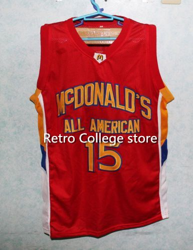 #15 Blake Griffin Dolphins McDonald ALL AMERICAN high quality basketball jersey Retro th ...