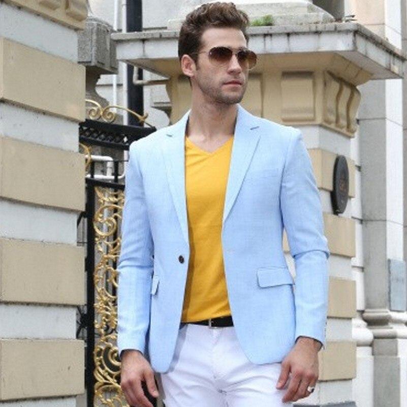 Popular Light Blue Suit Jacket-Buy Cheap Light Blue Suit Jacket