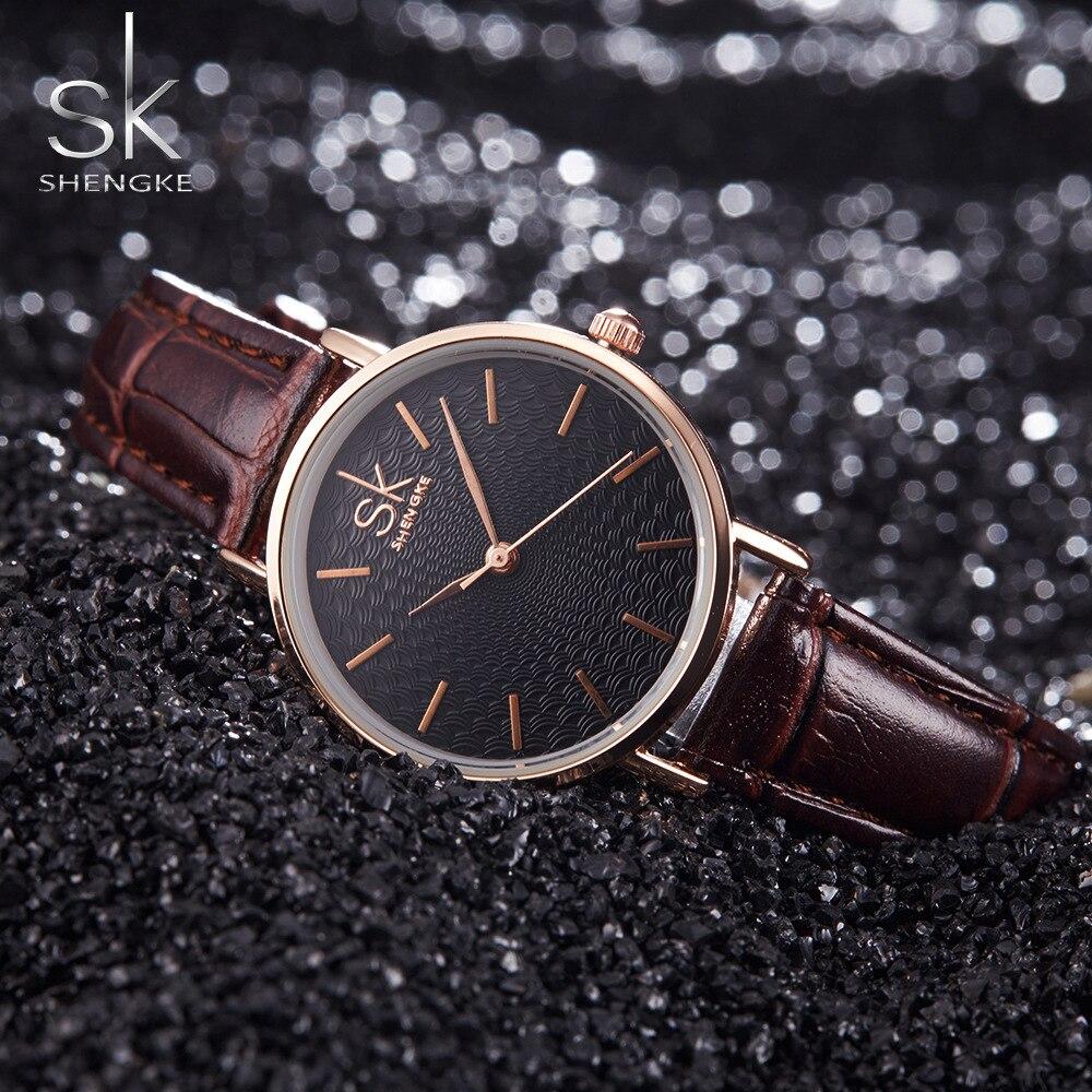 SK Super Slim Silver Mesh Stainless Steel Watches Women Top Brand Luxury Casual Clock Ladies Wrist Watch Lady Relogio Feminino 1