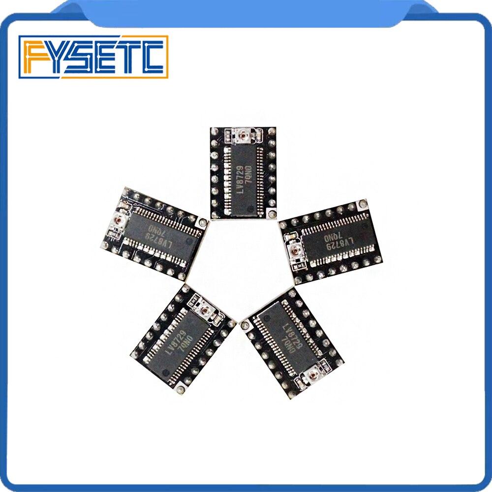 5pcs-lot 3D Printer Parts MKS LV8729 Stepper Motor Driver 4-layer PCB Ultra Quiet Driver Module Comp