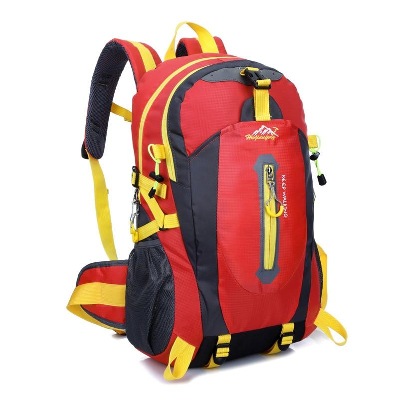 Waterproof Nylon Men Backpack Hiking Camping Climbing Bag Women Mochila Travel Bag Rucksack Trekking Bag