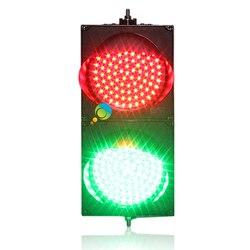 Alta luminosità nuovo design alloggiamento del PC a buon mercato 200mm rosso verde pieno palla HA CONDOTTO LA luce del segnale stradale