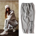 Gosha rubchinskiy calças das mulheres dos homens de alta qualidade 1:1 algodão sweatpants hip hop calças outwear bordado skate gosha rubchinskiy