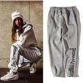 Gosha rubchinskiy pantalones hombres mujeres alta calidad 1:1 algodón hip hop pantalones outwear bordado skate gosha rubchinskiy sweatpants