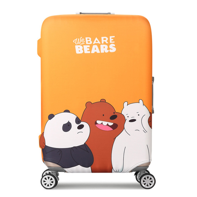 Bare Bears Luggage Protective Cover 2