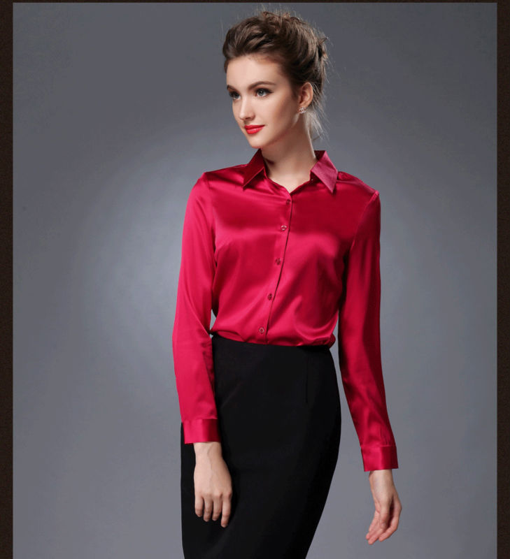 Silk blouses for women are available in a variety of styles, colors, sizes and designs. Finding the perfect blouse for any woman's wardrobe is easy when shopping where there are a variety of tops from which to choose.