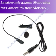 MICWL IP3 Pro Lavalier Lapel Clip On Microphone for Portable speaker PC Wireless Mic System etc.  3.5mm 1/8 Mono Connector