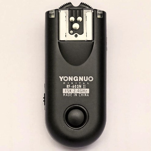 Yongnuo RF 603 II N3 RF 603N II Wireless Flash Trigger Trigger Remote for Nikon D7000