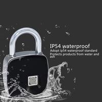Hot Smart Fingerprint Padlock Bluetooth Keyless Anti Theft Fingerprint Lock for Suitcase Locker XJS789