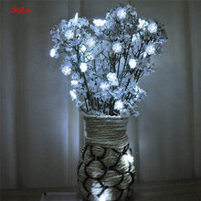 3 M/6 M Kerstboom Sneeuw Vlokken Led String Light Party Fairy Huis Wedding Garden Garland Holiday Led lichten Decoratie 5z(China)
