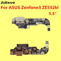 For Asus ZenFone 3 Max ZC553KL ZC520TL Tail Plug Side Motherboard Charging Port Dock Connector With