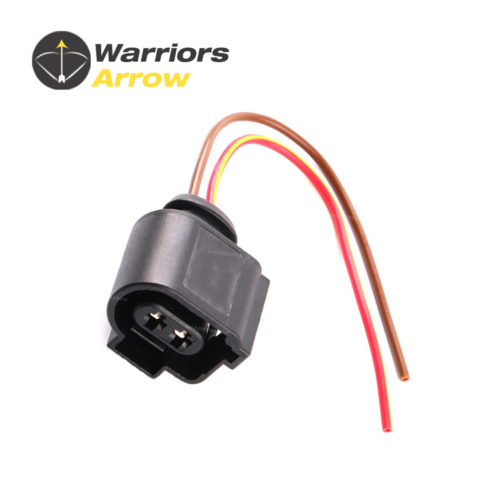 8 Kits Automotive Wiring Harness Connector 1j0973722 Electrical 2 Pin Wire 1j0973722a For Vw Beetle Passat Touareg Cc Audi Q5 A4 A6 Plug