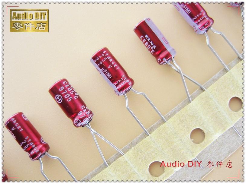 ELNA Red Robe Old STARGET 22uF 25V22uf Audio Electrolytic Capacitor