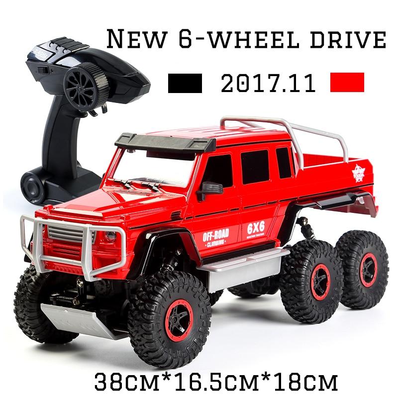 2017 NEW Cool Rc Mașină 4CH 6WD Rock crawler 6x6 Mașină de - Jucării cu telecomandă