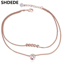 Crystal Anklets Jewelry For Women made with Crystal from Swarovski 20652