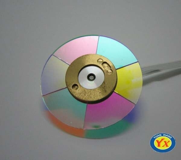 Оригинальное цветное колесо проектора, подходит для проекторов головного света/HD25e/HD131, цветное колесо проектора высокого качества