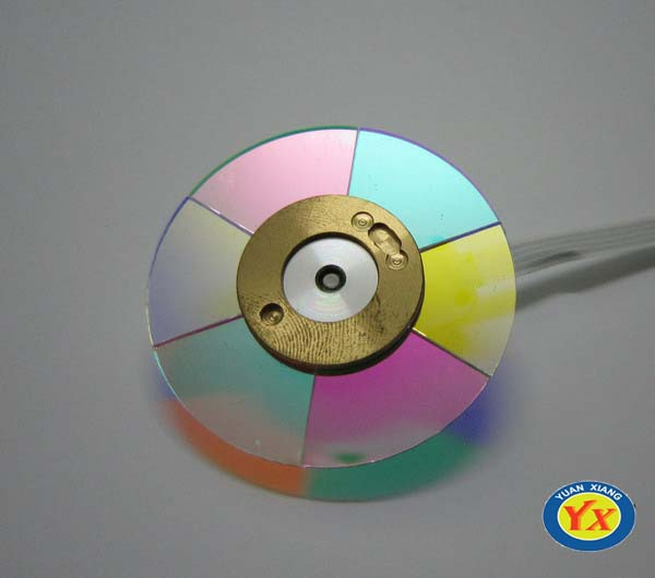 Original Projector Color Wheel Fit For Optoma HD25-LV / HD25e / HD131 Projectors  Stock High Quality Projector Color Wheel