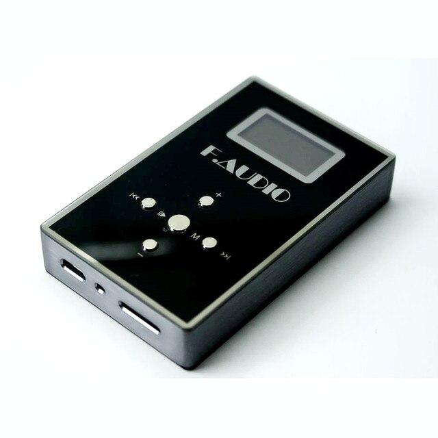 Nuevo Xunsound F de Audio S1 Bluetooth 4,0 música sin pérdidas de MP3 HiFi reproductor de música apoyo TF tarjeta de expansión y amplificador de auriculares