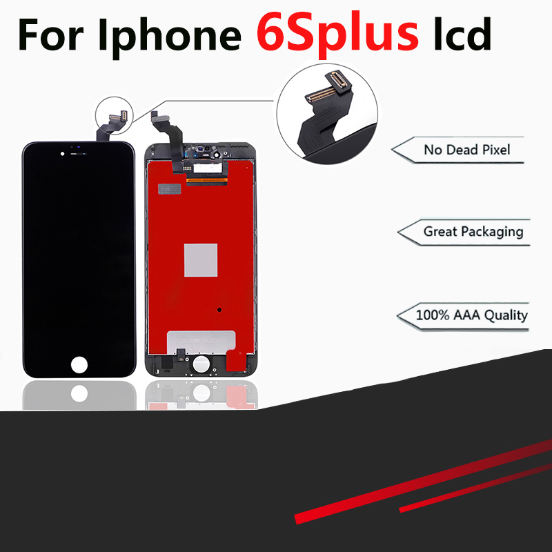 10 PCS AAA LCD Screen Für <font><b>iphone</b></font> <font><b>6s</b></font> plus Montage <font><b>Display</b></font> Ersatz mit Digitizer <font><b>Original</b></font> Telefon Teile image
