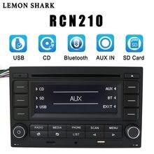 Лимонная Акула автомобильное радио RCN210 CD плеер Bluetooth USB MP3 AUX 9N 31G 035 185 для VW Golf Jetta MK4 Passat B5 Polo RCN 210