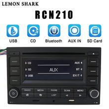 LEMON SHARK Car Radio RCN210 CD Player USB MP3 AUX Bluetooth 9N 31G 035 185 For VW Golf Jetta MK4 Passat B5 Polo RCN 210(China)