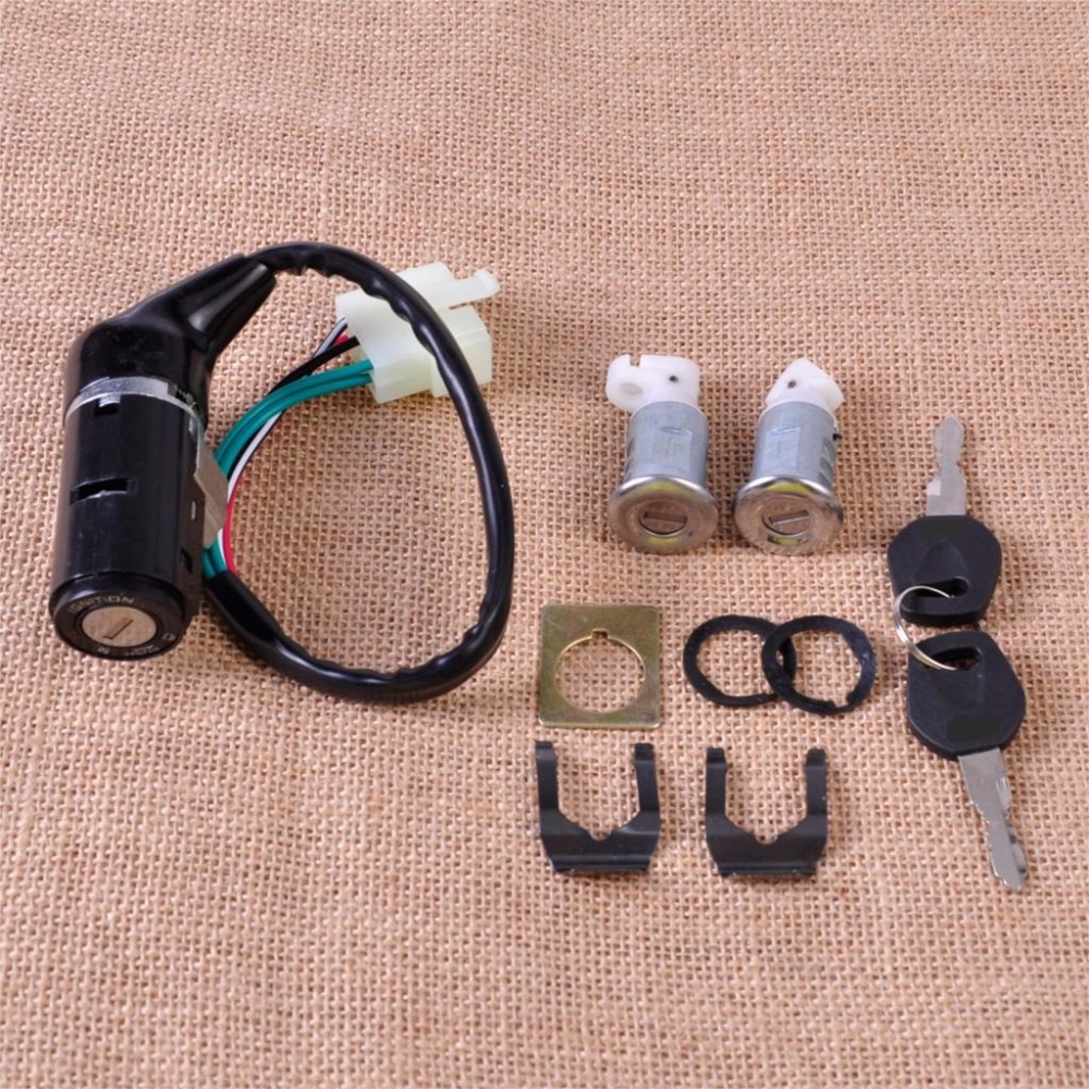 CITALL Fit for Chinese GY6 50cc 125cc 150cc 250cc ATV Scooters Moped Ignition Switch Key Lock Toolbox Cushion Lock 5 Wire