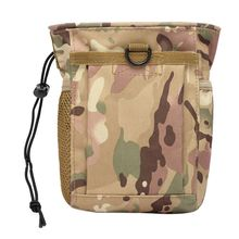 цена на Outdoor Hunting Rifle Molle Military Tactical Gun Magazine Dump Drop Reloader Pouch Bag Utility Pouch Backpack