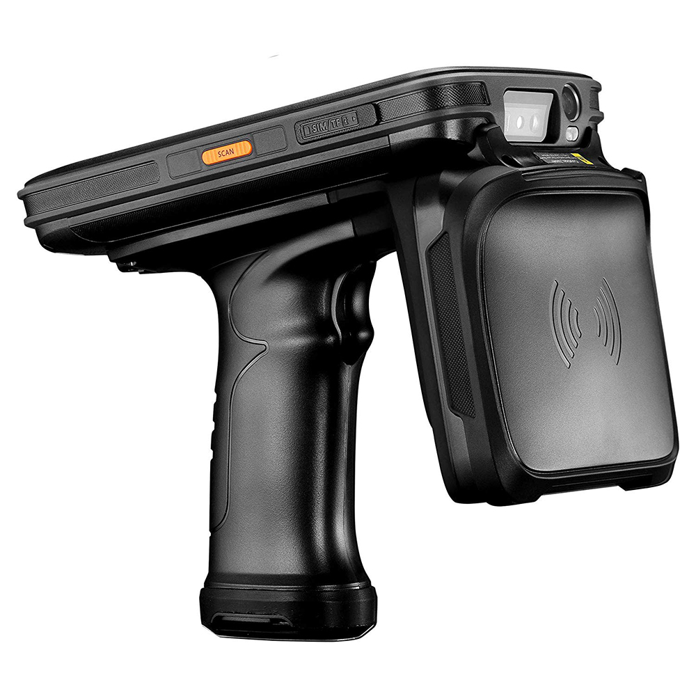 Qctacor Android 8.1 Mobile Data Collector IP67 Rugged Handheld PDA 1D 2D Barcode Scanner UHF RFID Reader with 3G RAM 32G ROM