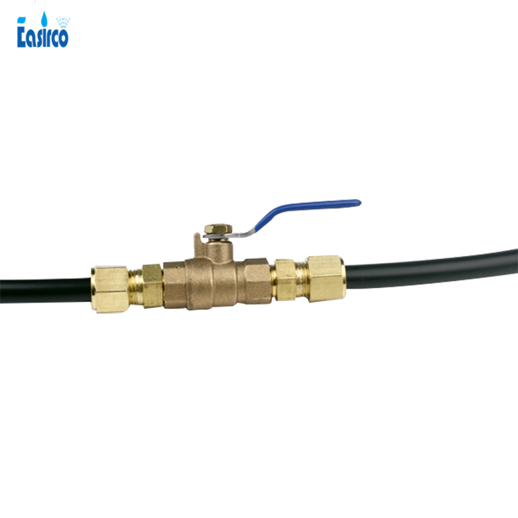 3/8'' Brass shut off ball valve for misting system