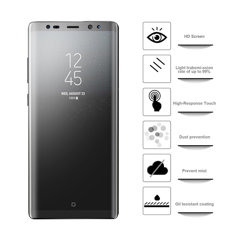 3D Full Cover Matte Frosted Soft Screen Protector For Samsung Galaxy S7 2
