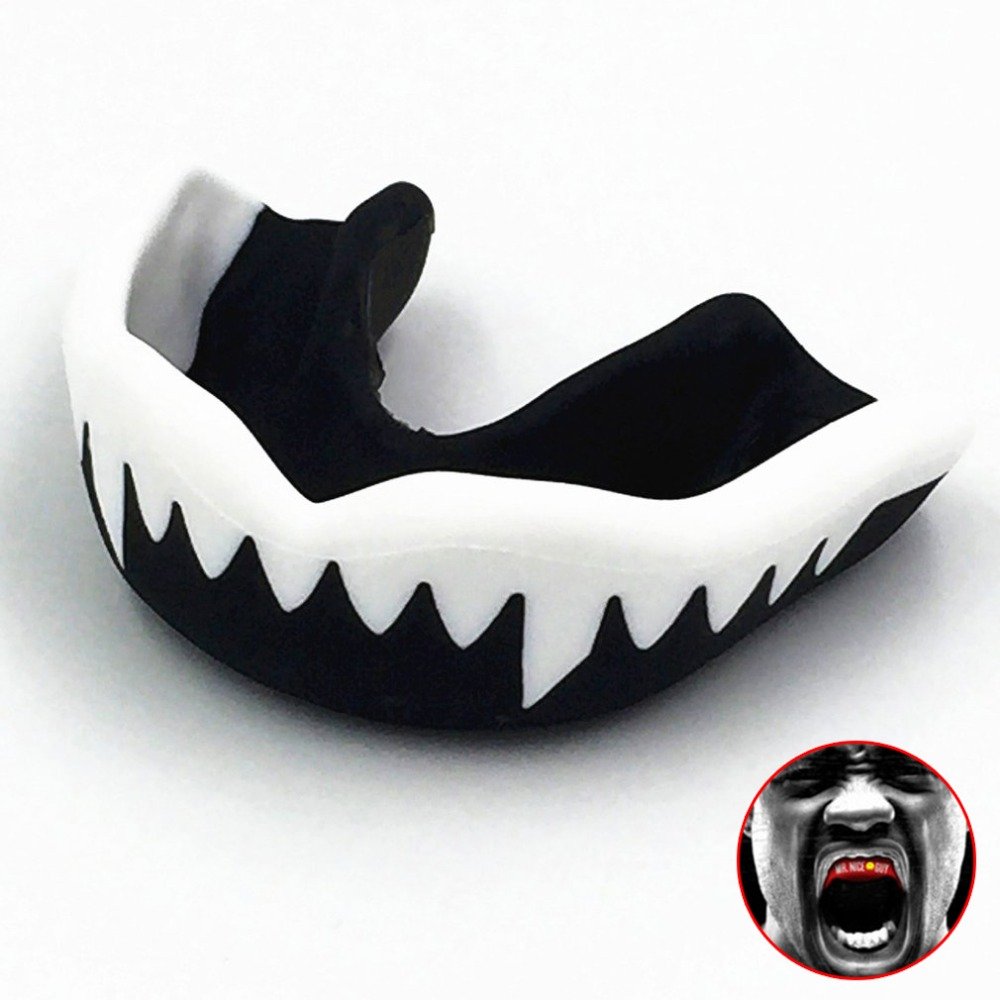Professional Soft EVA Mouth Guard Adult Karate Muay Safety Mouth Protective Teeth Guard Sport Football Basketball Thai Boxing