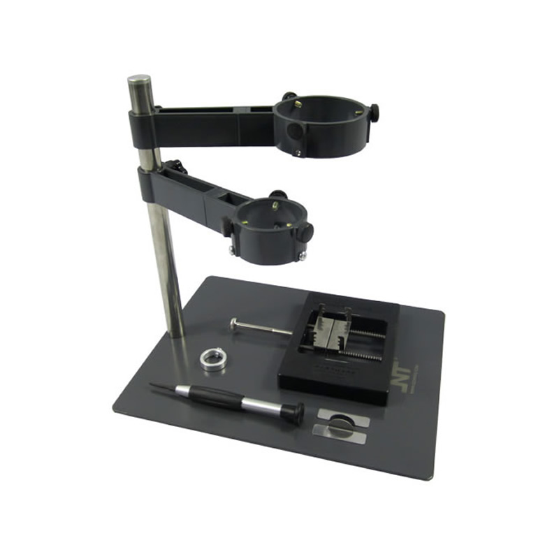 F-204 Mobile Phone Laptop BGA Rework Reballing Station Hot Air Gun Clamp Jig NT F204 Fixtures hot air gun clamp holder for mobile phone repair platform bga rework tool f 204