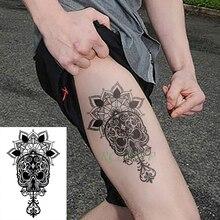 Compra Mandala Tattoo Leg Y Disfruta Del Envio Gratuito En