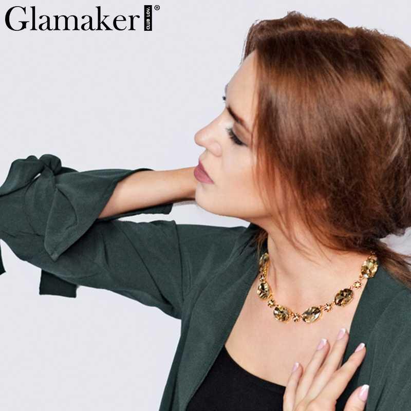 Glamaker розовый галстук-бабочка Тренч женский летний длинная Кофта свободного кроя пальто-кимоно зеленое летнее Женское пальто Верхняя одежда сексуальный кардиган