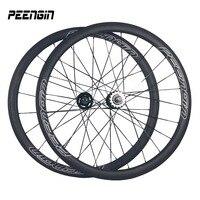 38mm carbone roues pneu classique fixie conception chine fournisseur route Vélo Roues 25 U Forme vente chaude à Indien marchés