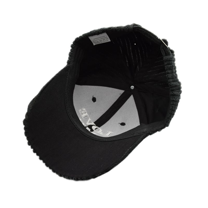 677be0b55183 BHESD 2017 Autumn New Embroidery Corduroy Baseball Cap Women Plain Love Me Black  Dad Hat Fall Adult Snapback Hat Gorras JY JY607-in Baseball Caps from ...