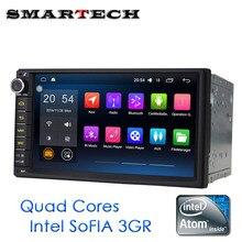2Din Universal Car Radio Android 6 0 Marshmallow Intel ATOM QuadCore HeadUnit HD Car GPS Navi
